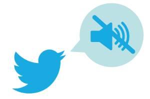 silenziare i tweet