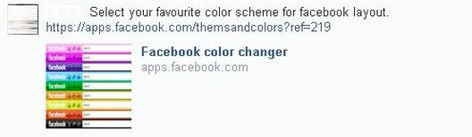 facebook color changer