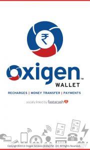 inviare denaro con oxygen-wallet