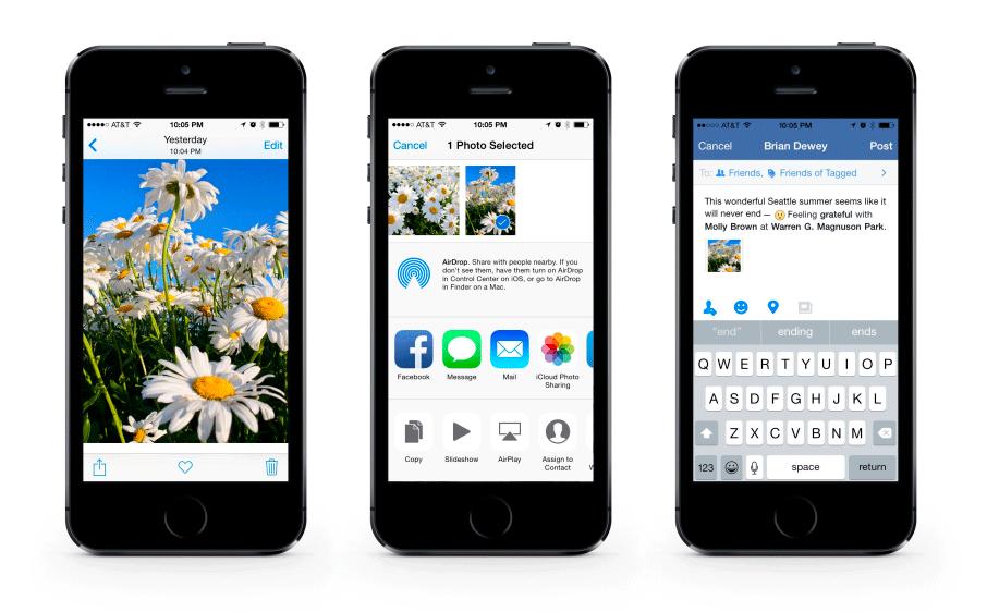facebook ios8
