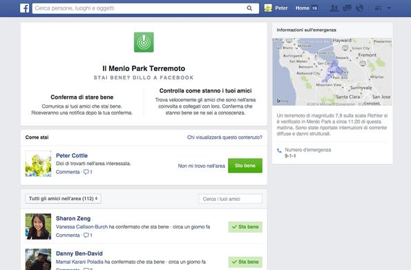 facebook stai bene desktop