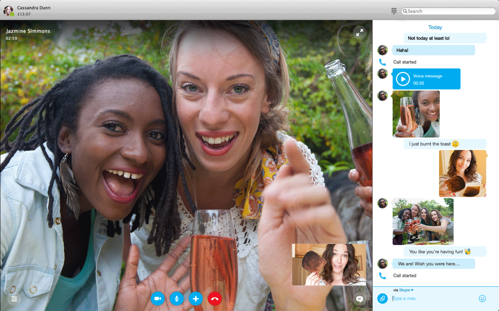 skype for mac 2