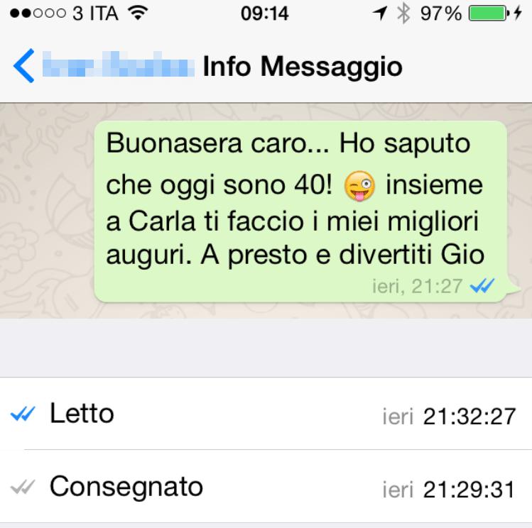 WhatsApp notifiche letture 2