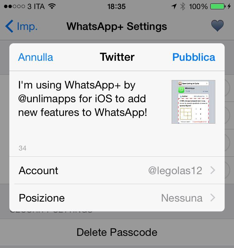 WhatsApp+ 5