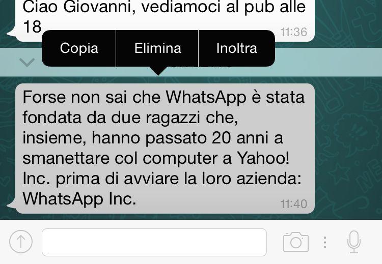 WhatsApp trucco 3b