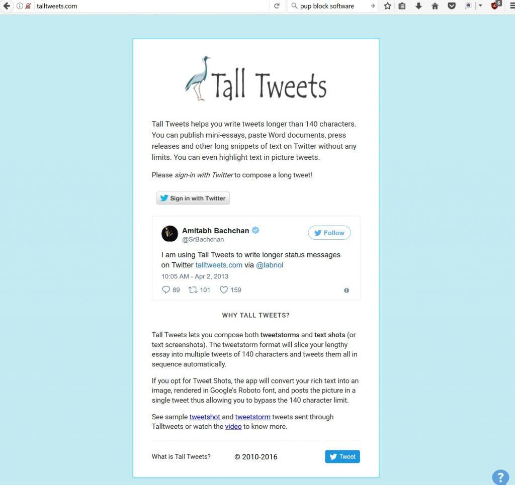 twitter: scrivere tweet più lunghi - tall_tweets_1