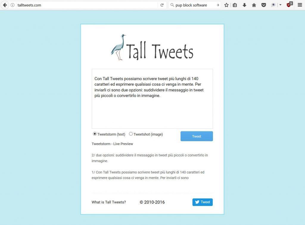 twitter: scrivere tweet più lunghi - tall tweets_2