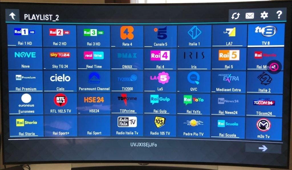 iptv su smart tv sony