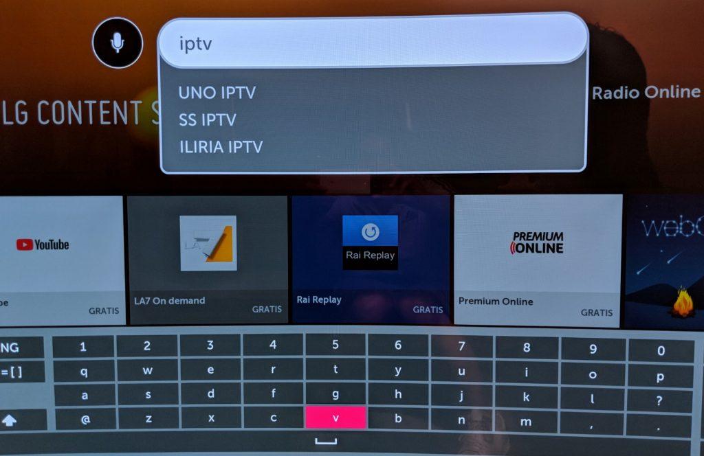 guardare iptv su smart tv