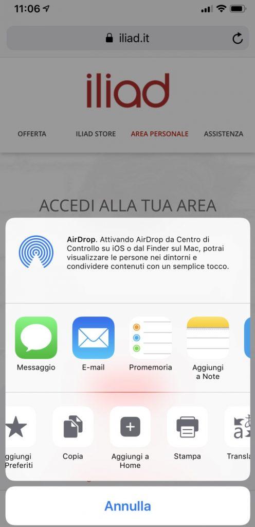app ufficiale iliad