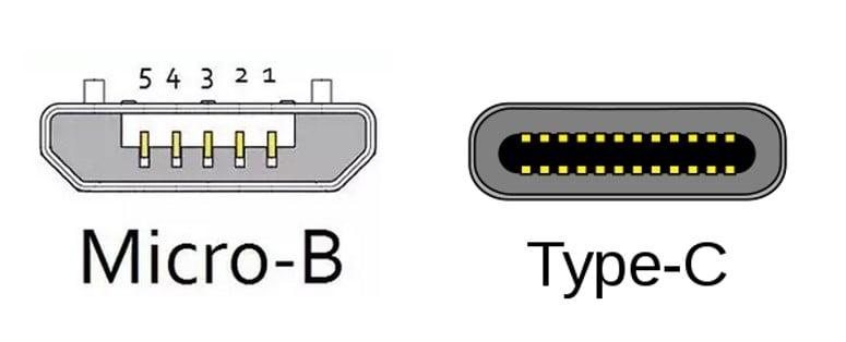 micro usb e type c