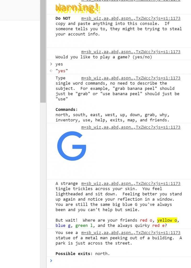 google ester_eggs