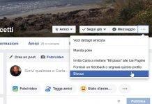scoprire chi mi ha bloccato su Facebook