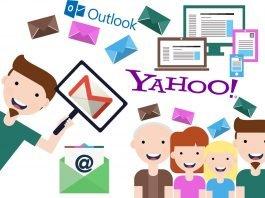 Leggere la posta di Yahoo! e Outlook in Gmail