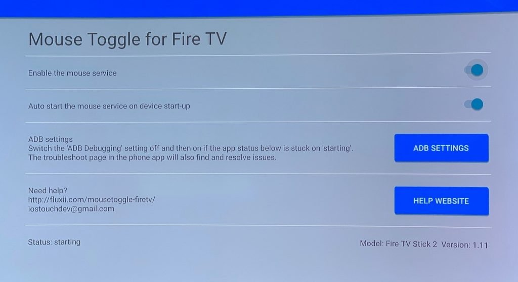 abilitare il touch su Fire TV