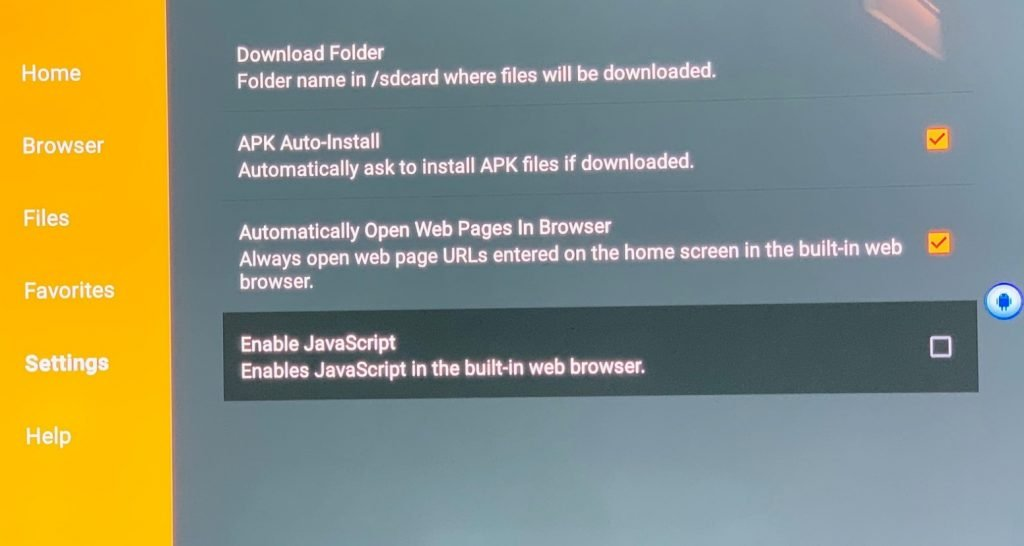 installare apk su Fire TV senza PC