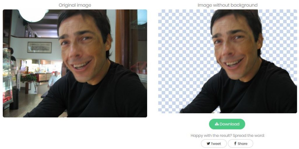 eliminare lo sfondo da una foto