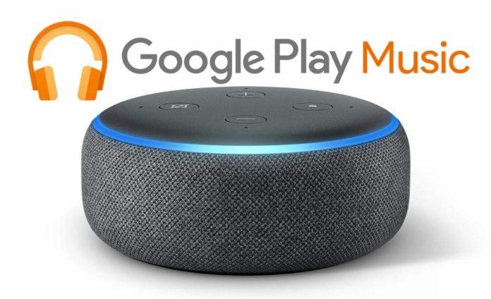 Play Music su Amazon Echo
