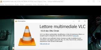 installare VLC 4.0 in anteprima