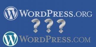 Differenze tra wordpress.org e wordpress.com