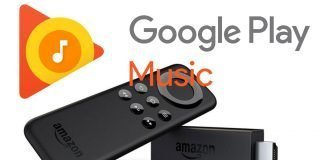 Google Play Music su Fire TV Stick