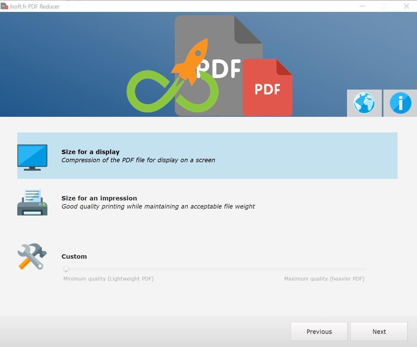 Comprimere un PDF su pc