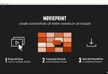 MoviePrint, come creare uno screenshot di un video