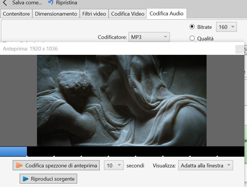 Convertire un video mkv in mp4 mantenendo la qualità
