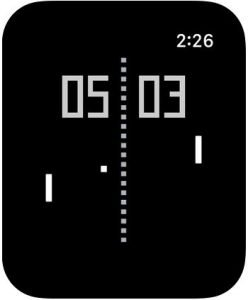pong for Apple Watch