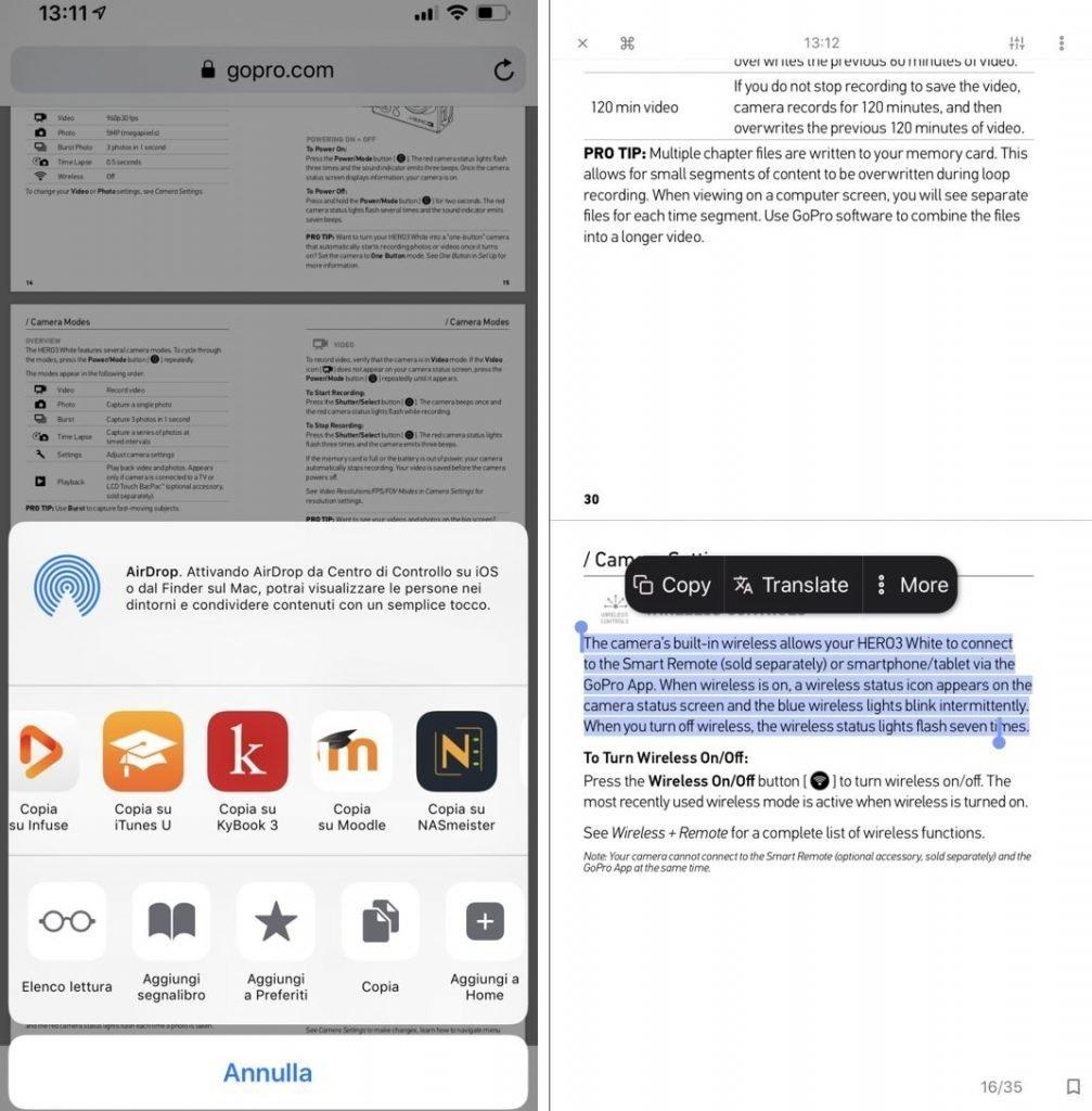 Come tradurre un pdf su Android e iOS
