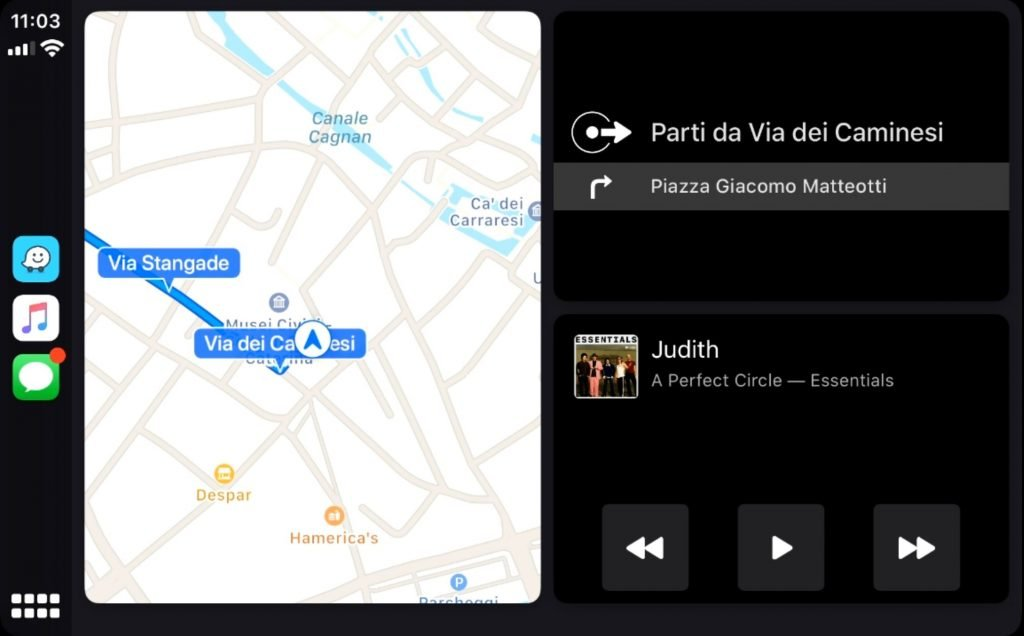 nuova interfaccia CarPlay