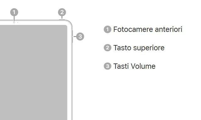 Tasti fisici iPad Pro
