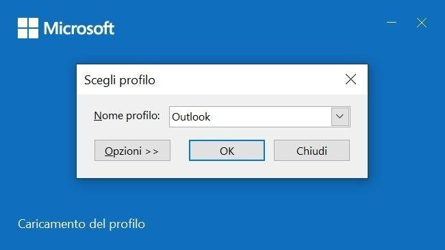 Ripristinare il corretto funzionamento di Outlook con l'avvio sicuro