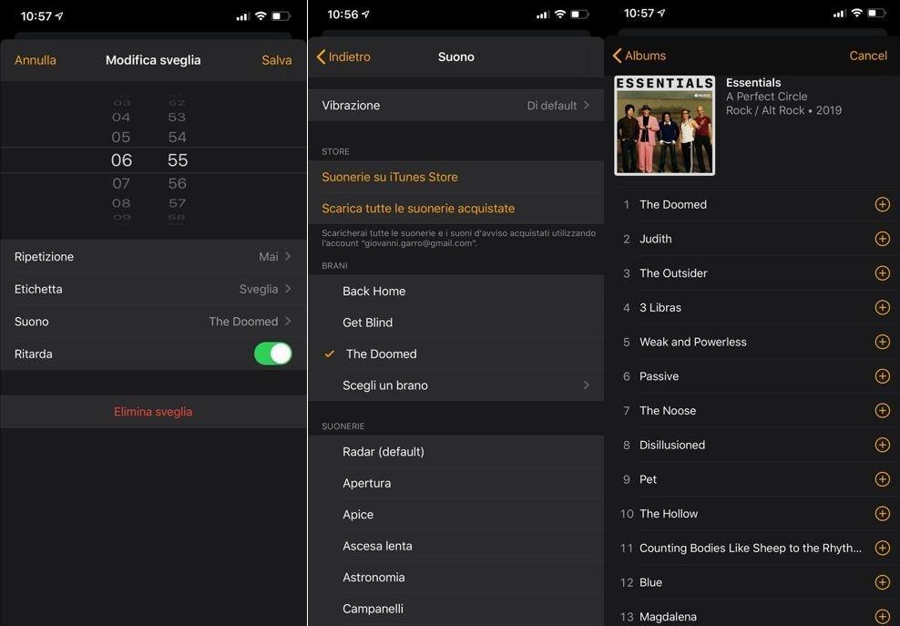 Trucchi iOS, impostare una canzone come sveglia