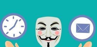 inviare una email anonima
