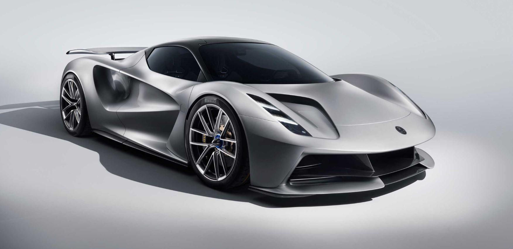 Lotus Evija, un bolide elettrico da oltre due milioni di dollari