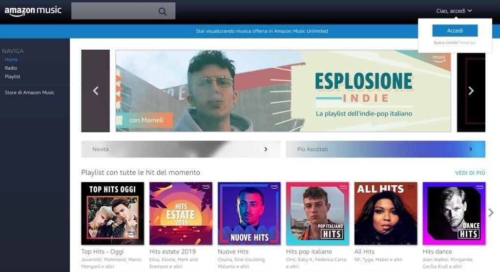 Amazon Music Web