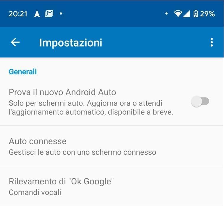 Come abilitare il nuovo Android Auto