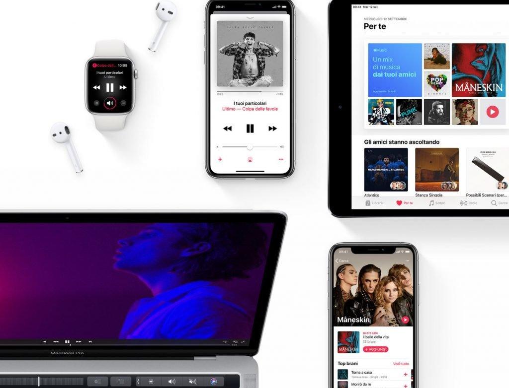 Apple Music dispositivi