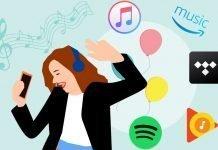 Quale scegliere tra Spotify, Apple Music, Amazon Music, Google Play Music e Tidal.