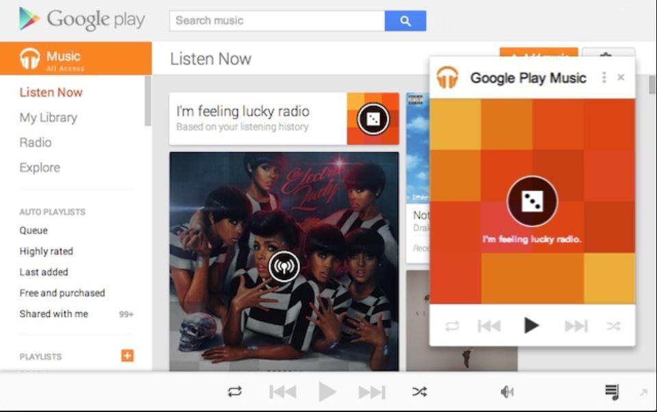 google play music web