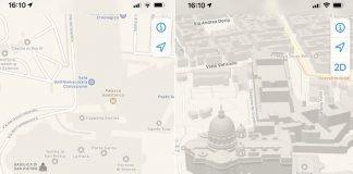 Come abilitare la modalità 3D in Mappe su iOS13