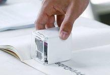 PrinCube, la più piccola stampante a colori portatile al mondo