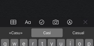 Correttore ortografico iOS