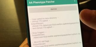 Errore Suitable method NOT found in AA Phenotype Patcher