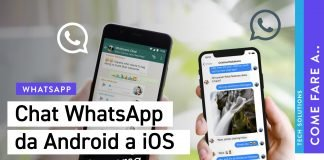 Trasferire chat WhatsApp da Android a iPhone