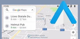 Come nascondere la barra di navigazione in Android Auto