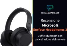 Recensione Microsoft Surface Headphones 2