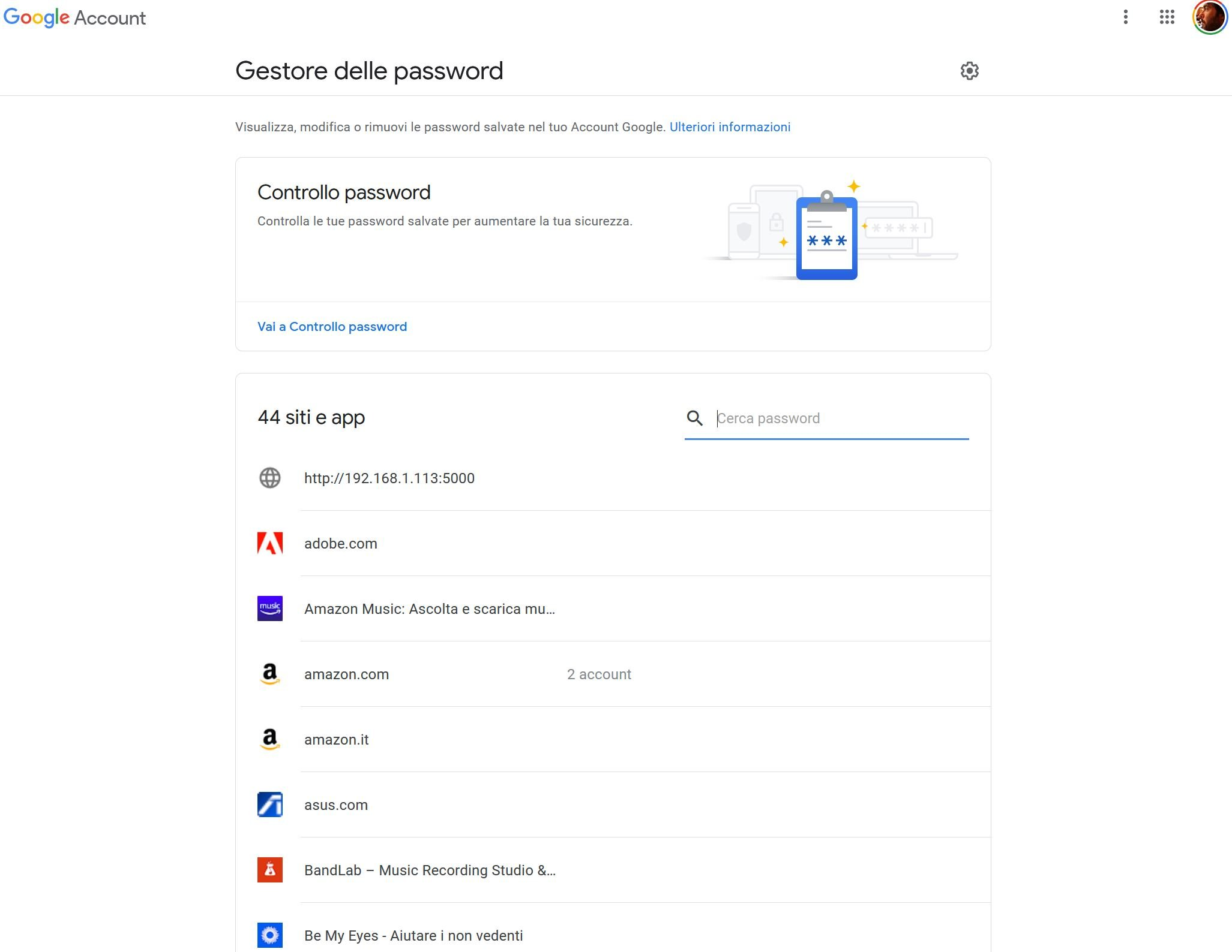 Come recuperare le password delle app su Android