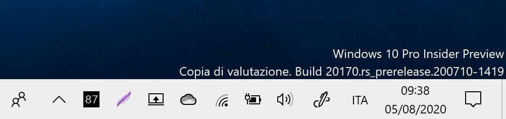 Visualizzare la percentuale della batteria in Windows 10 con percentage